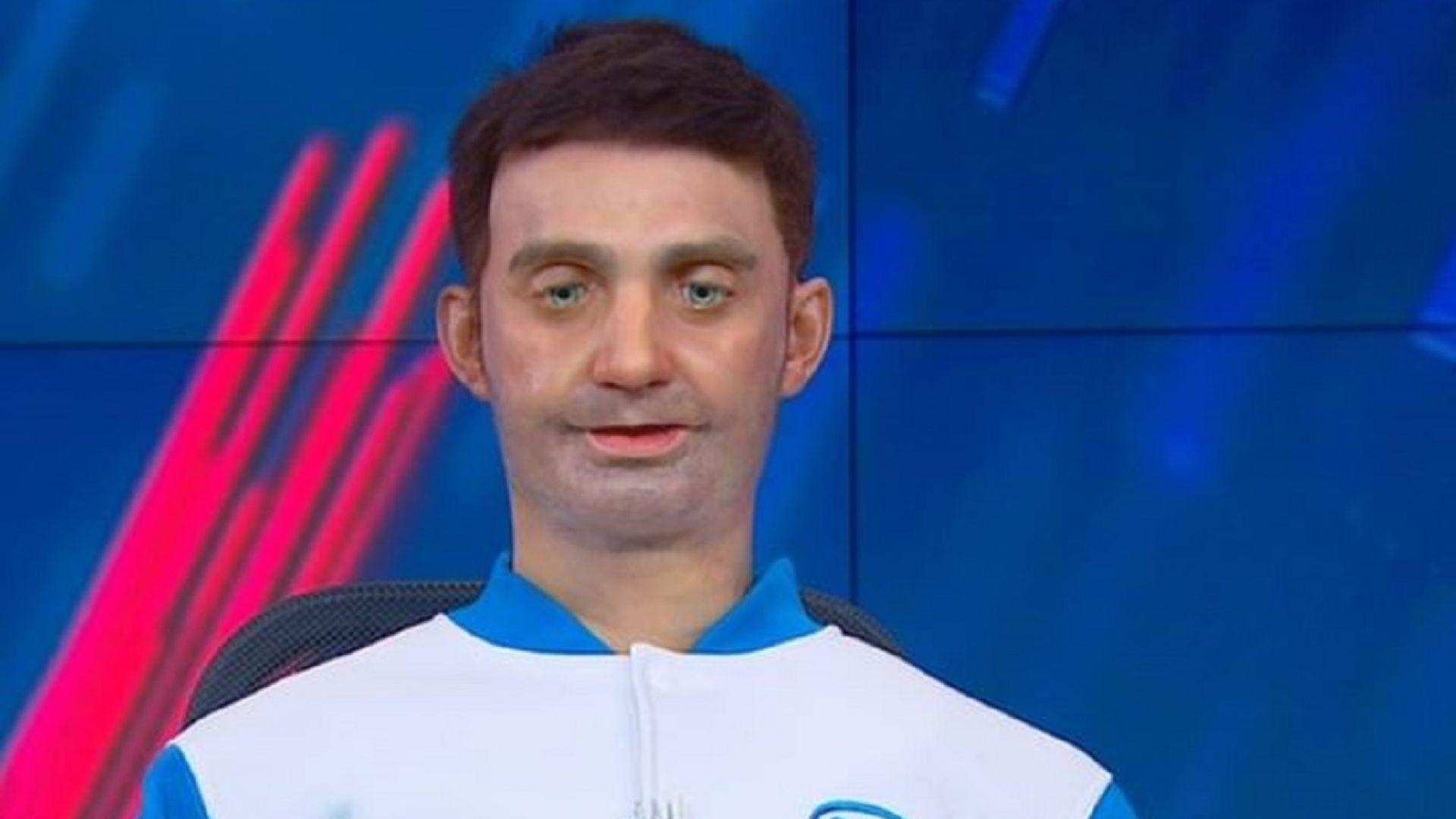 """Човекоподобен андроид е новият водещ на """"Россия 24"""""""