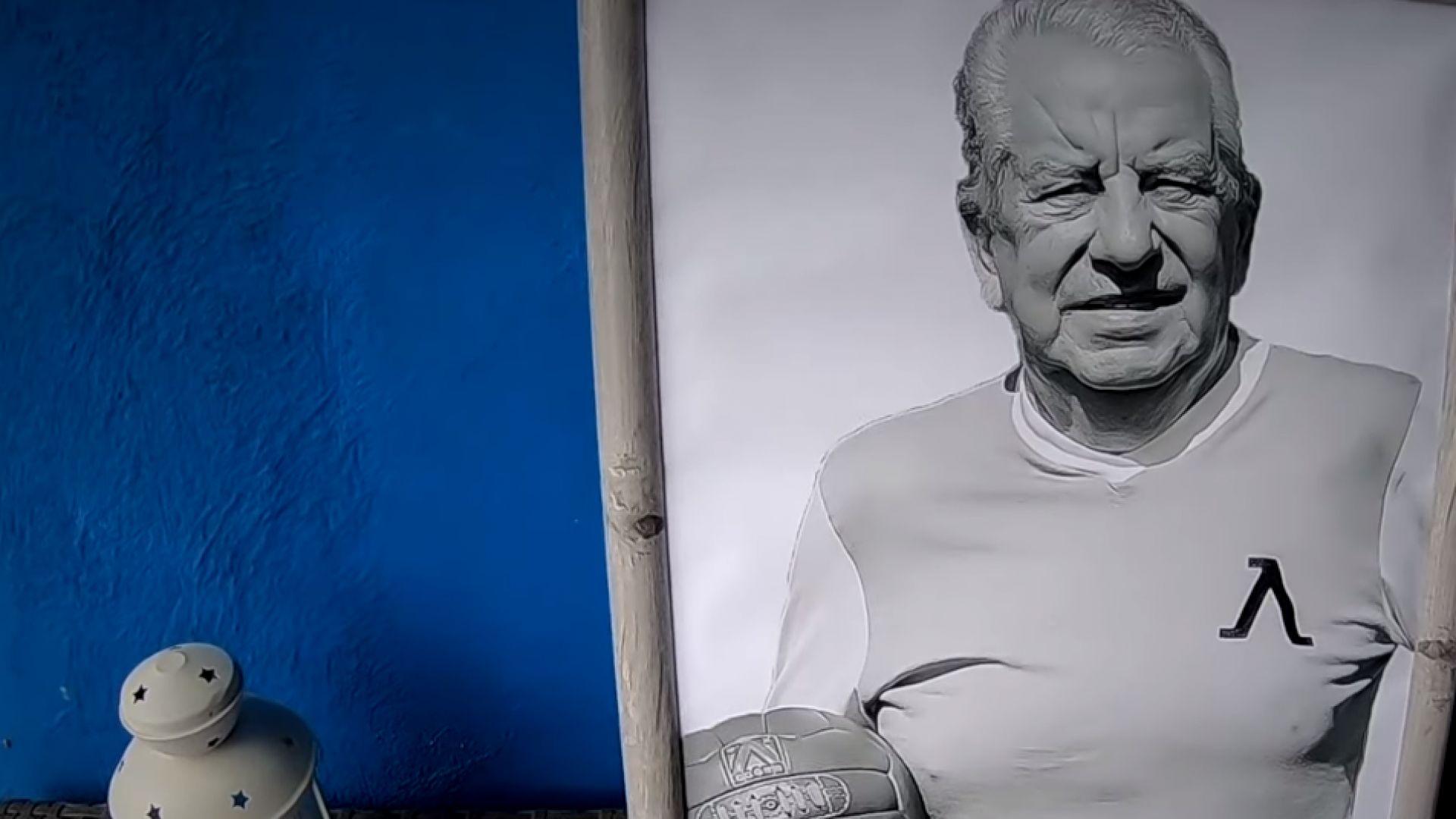 """""""Сините"""" почетоха паметта на Сашо Костов (видео)"""