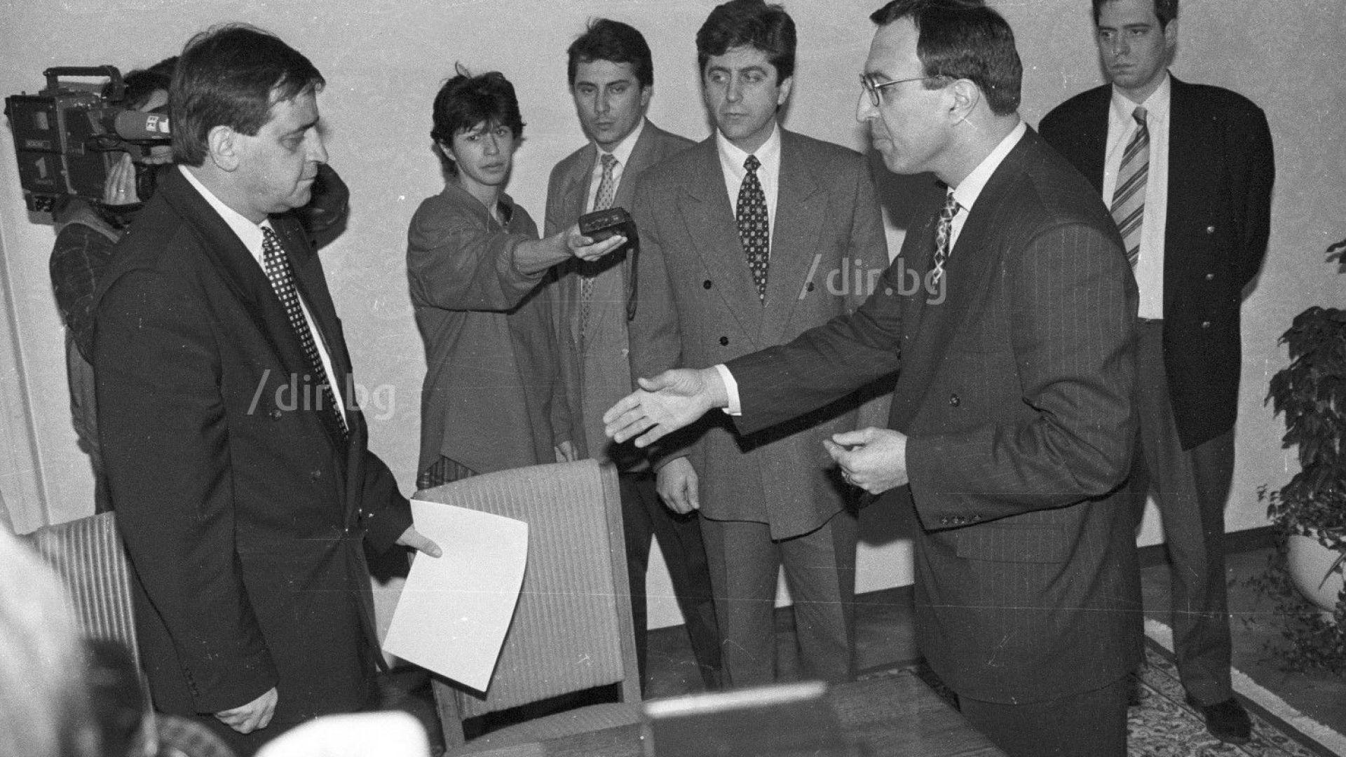 Снимка: 20 г. от смъртта на политика, спасил България от гражданска война