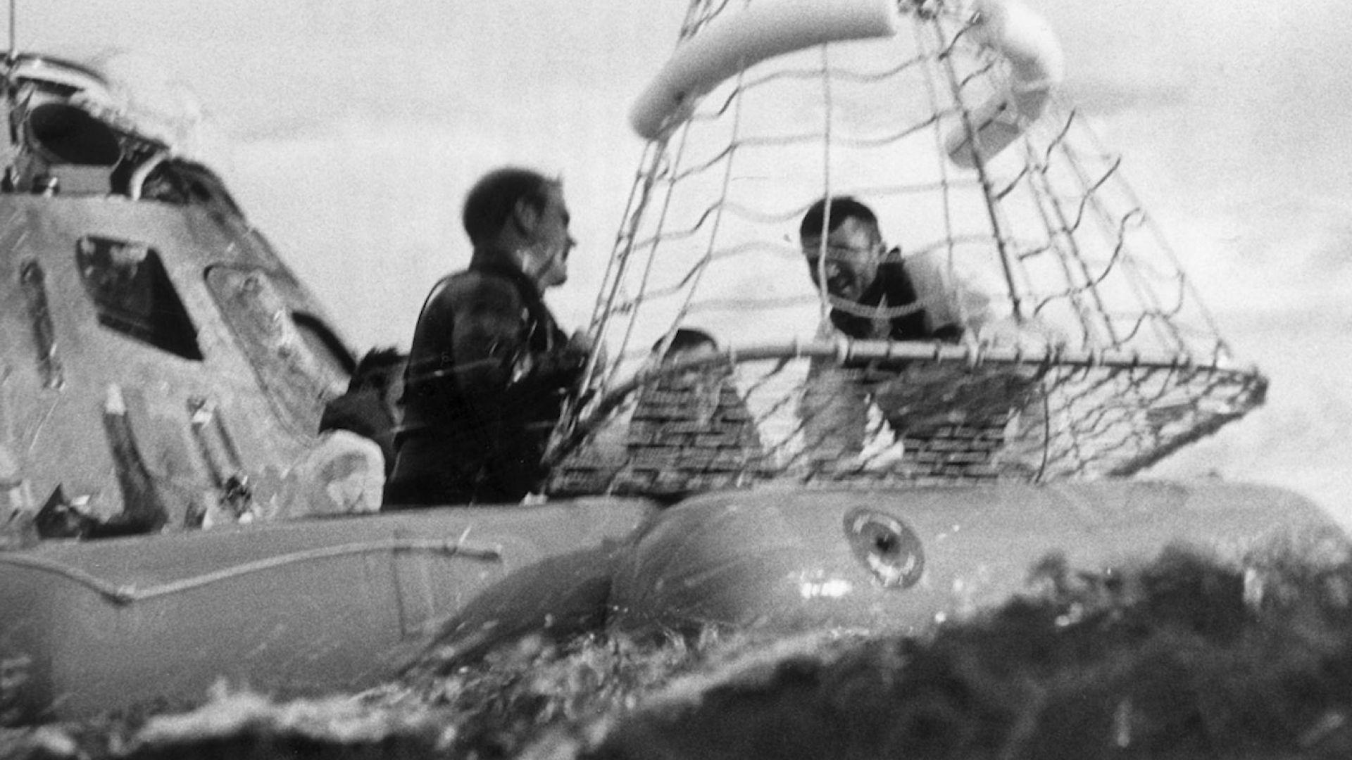 """Специалист възстанови кадри от авариралия """"Аполо 13"""" (видео)"""