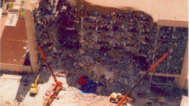 Забравената трагедия на Америка - 3-тонната бомба в Оклахома Сити (снимки)