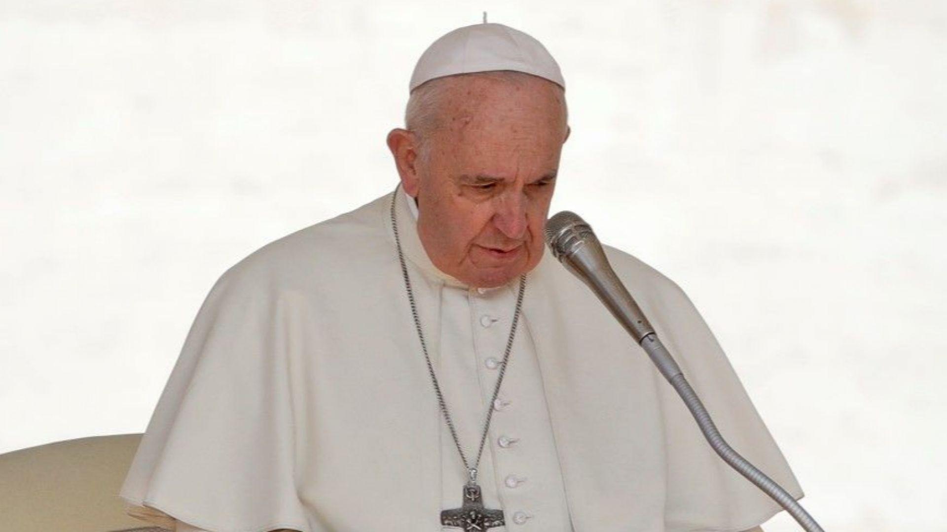 Заделяме 866 000 лв. за посещението на папа Франциск