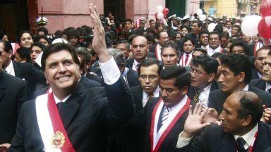 Експрезидент на Перу се простреля фатално при арест