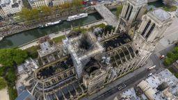 """Три месеца след пожара в """"Нотр Дам"""" има едва 10% от обещаните дарения"""