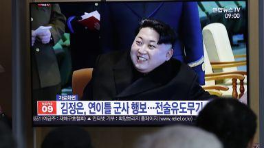 Северна Корея изпробва пред Ким Чен-ун нова тактическа оръжейна система