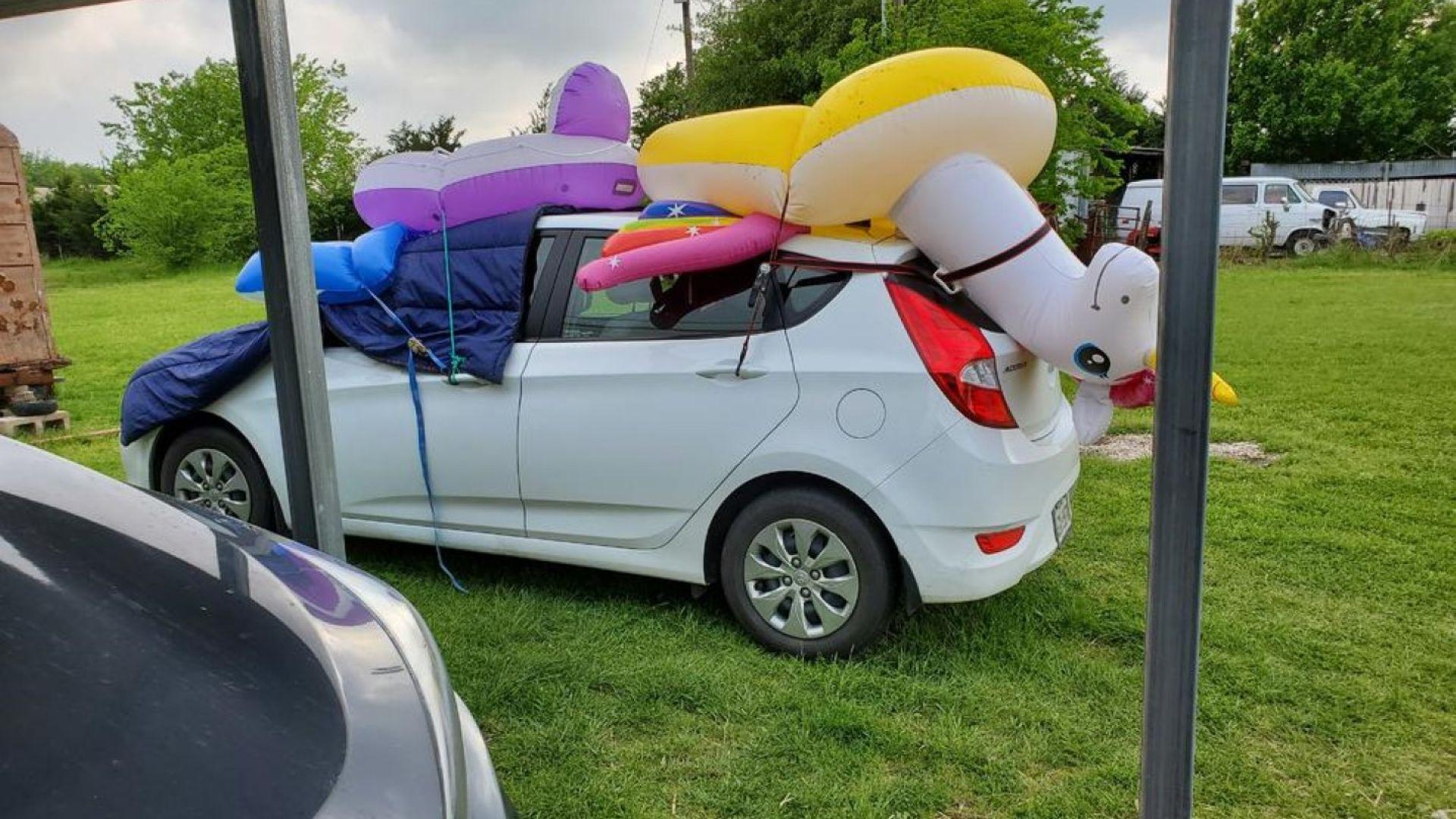 Как да защитите автомобила си от градушка (галерия)