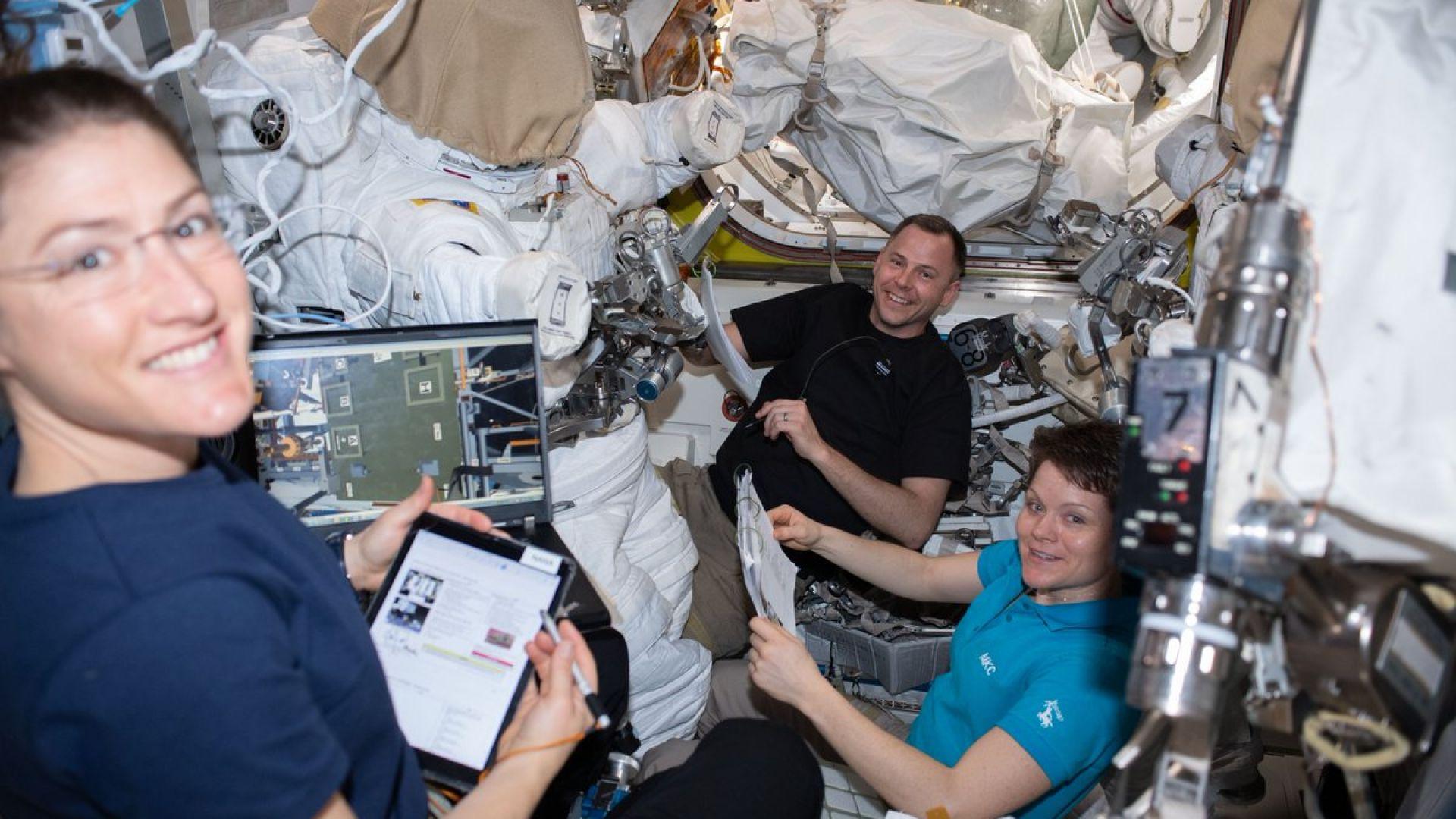 Американска астронавтка ще стане рекордьорка по продължителност на полет