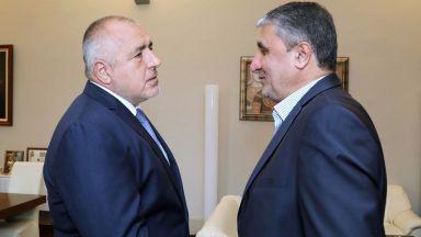 Борисов обсъди транспортен коридор с ирански министър