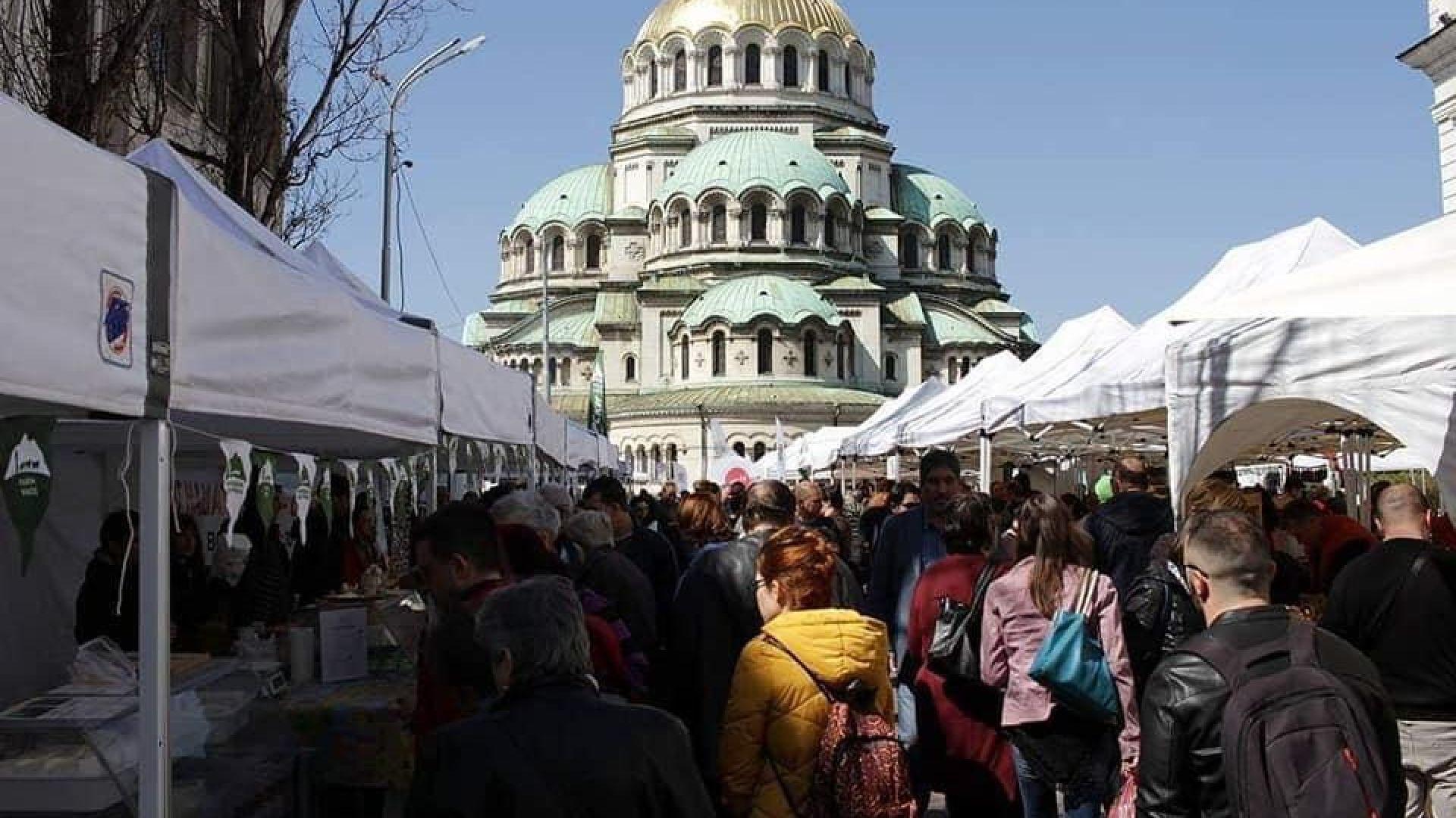 Всеки месец ще има фермерски пазар в София