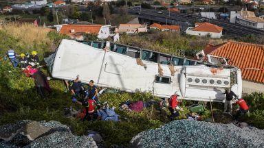 Германски самолет прибра от Мадейра 12 оцелели при автобусната катастрофа