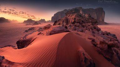 Фотограф засне Марс на Земята