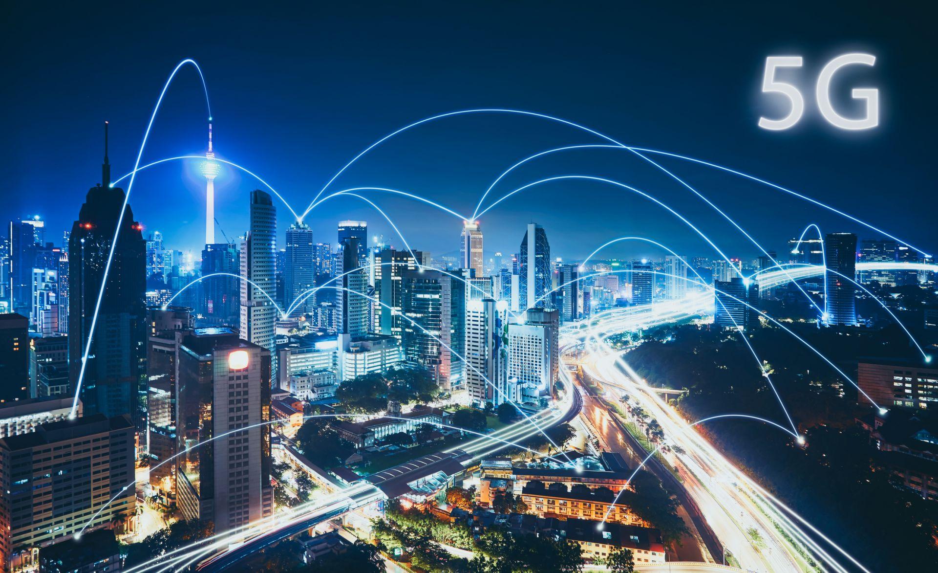 5G ще позволи създаването на умни градове с автономен транспорт