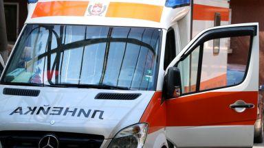 """Лек автомобил е катастрофирал на """"Тракия"""", след което се е самозапалил"""
