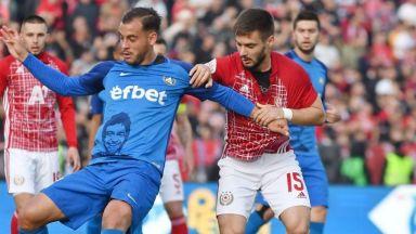 Битката за титлата: Левски - ЦСКА 0:0, Ботев - Лудогорец 0:2 (на живо)