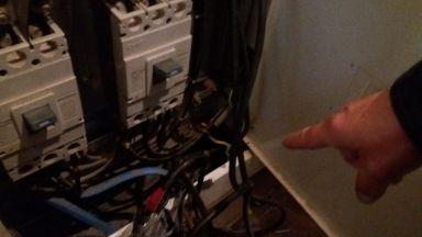 ЧЕЗ разпределение разкри мащабна кражба на ток от луксозна сграда в София (снимки)