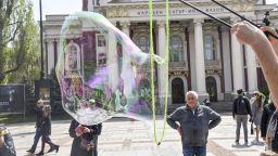 """""""Балони на любовта"""" срещу родителското отчуждение (снимки)"""