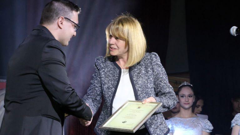 Петър Денчев и Йорданка Фандъкова
