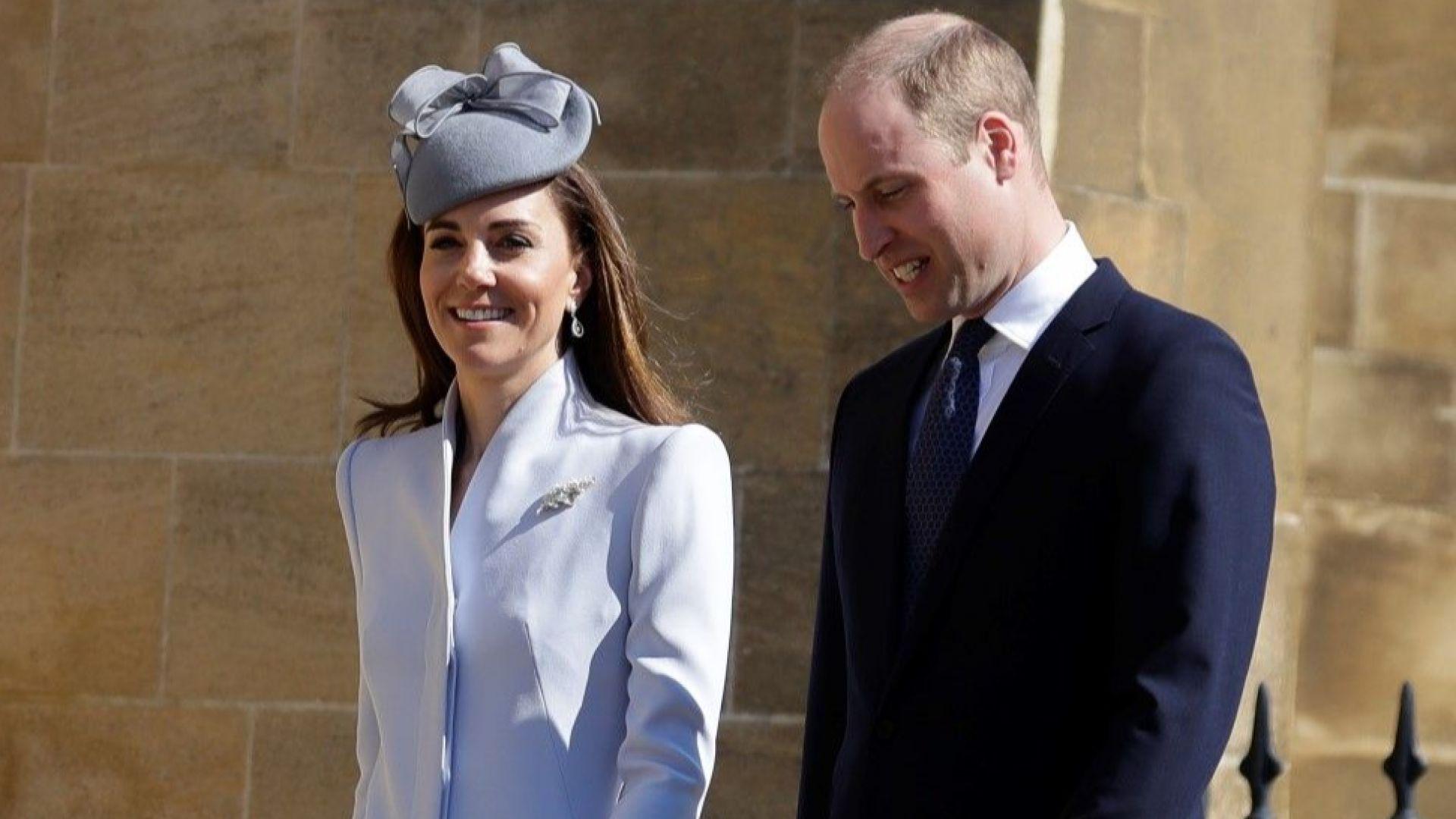 Уилям и Кейт посетиха племенника си Арчи