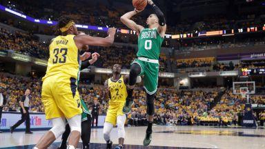 Бостън е първият полуфиналист в НБА