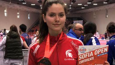 Талантът Радина Борисова с бронз при девойките от G1 по таекуондо
