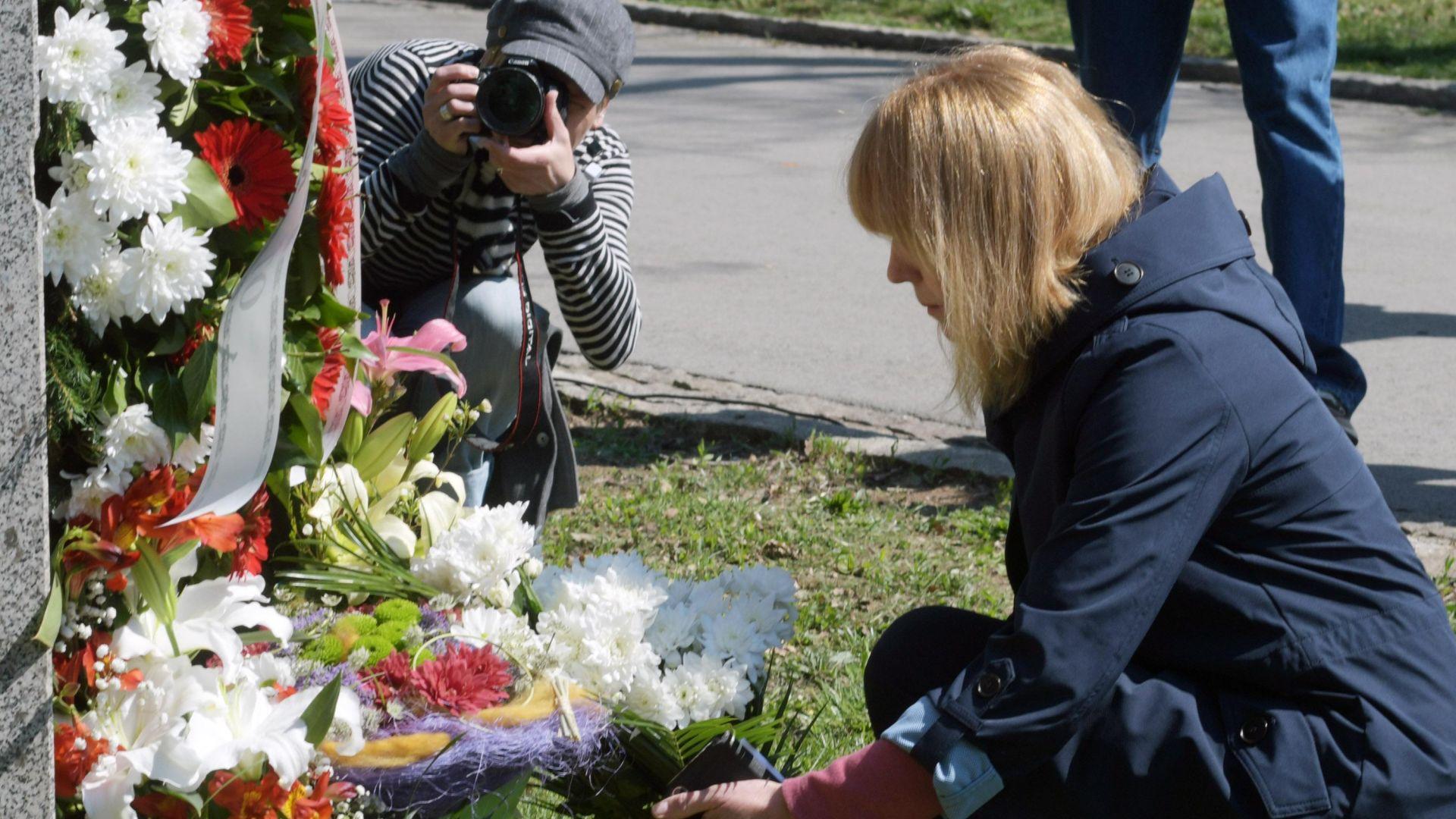 Откриха възстановения паметник на Панчо Владигеров в Борисовата градина