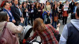Протест: Дават пълна власт на държавата над детето и семейството му (снимки)