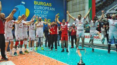 Нефтохимик се отказа от Шампионска лига заради залата в Бургас