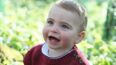 Кейт снима принц Луи за първия му рожден ден