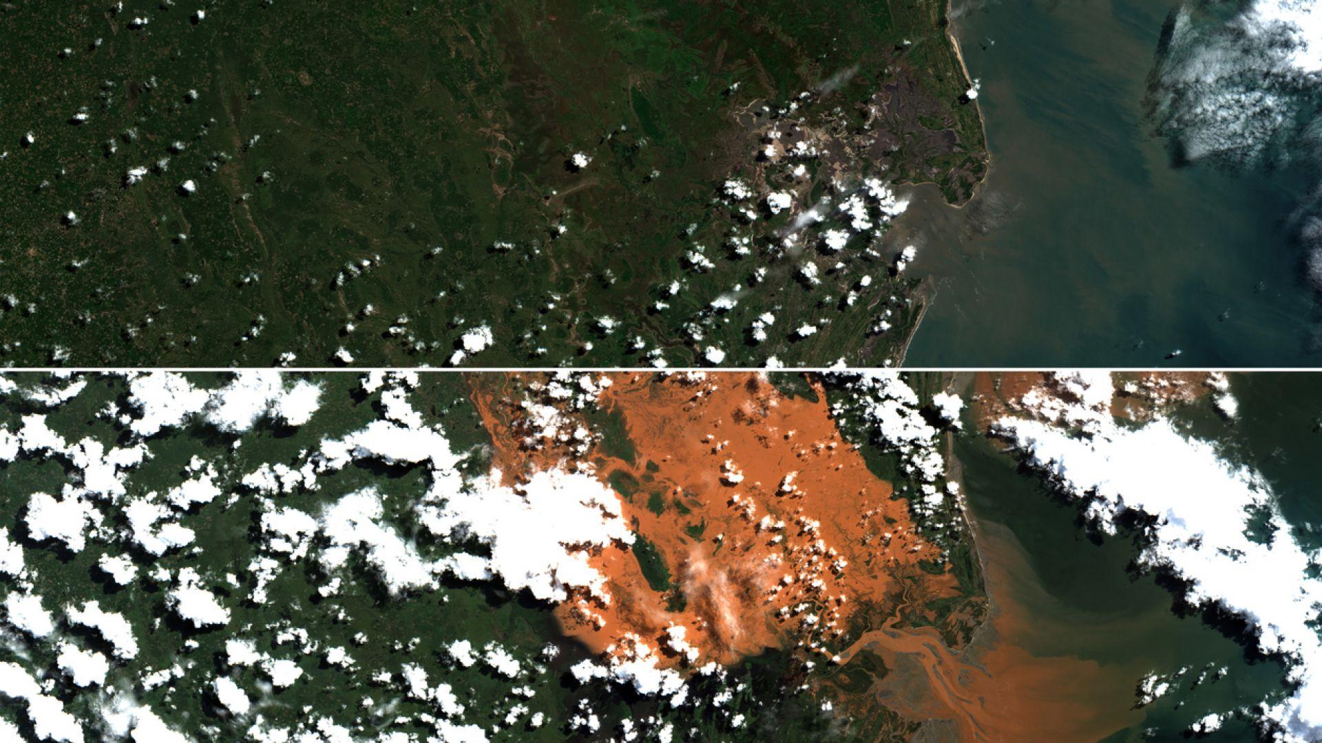 Нов потенциално опасен циклон, удря Мозамбик (видео)