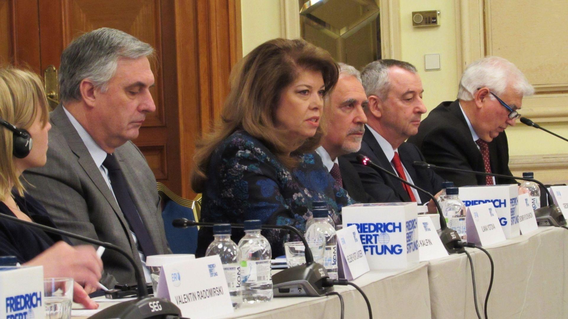 Йотова: ЕС трябва да извади отношенията си с Русия от задънената улица