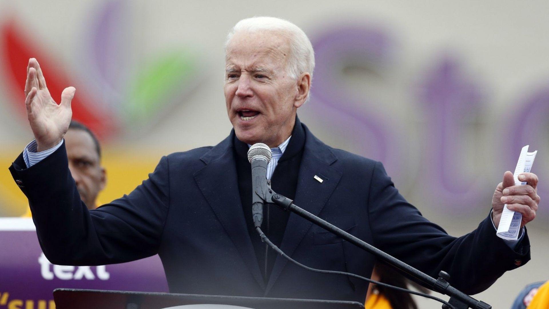 Джо Байдън се включва в кандидат-президентската надпревара
