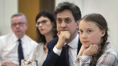 Бъдещето на младите беше откраднато, каза Грета Тунберг пред британските депутати