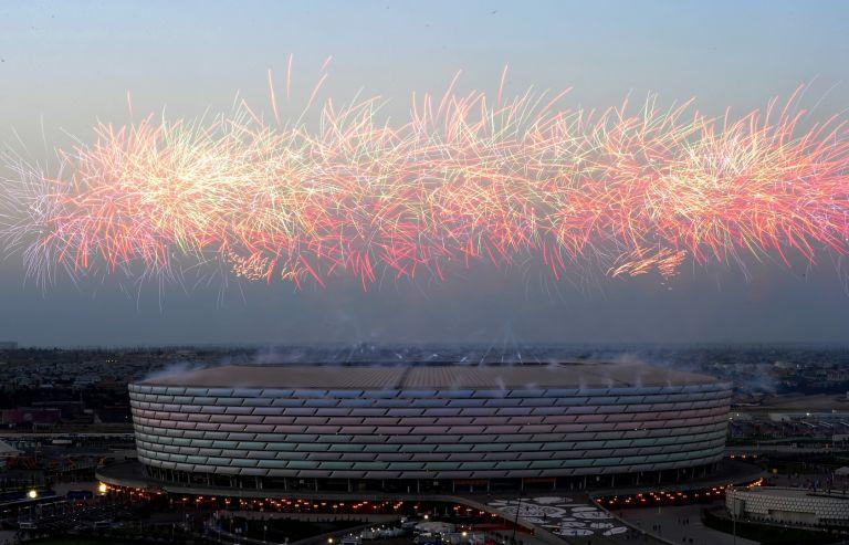 Стадионът на откриването на игрите Баку 2015