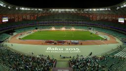 Хиляди празни седалки за безумния финал в Баку