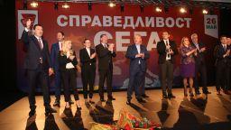 БСП представи евролистата си пред софийската общественост на мащабно събитие в НДК