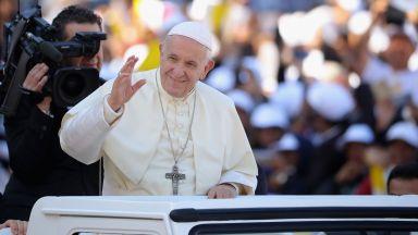 Ето къде и кога може да се види папа Франциск