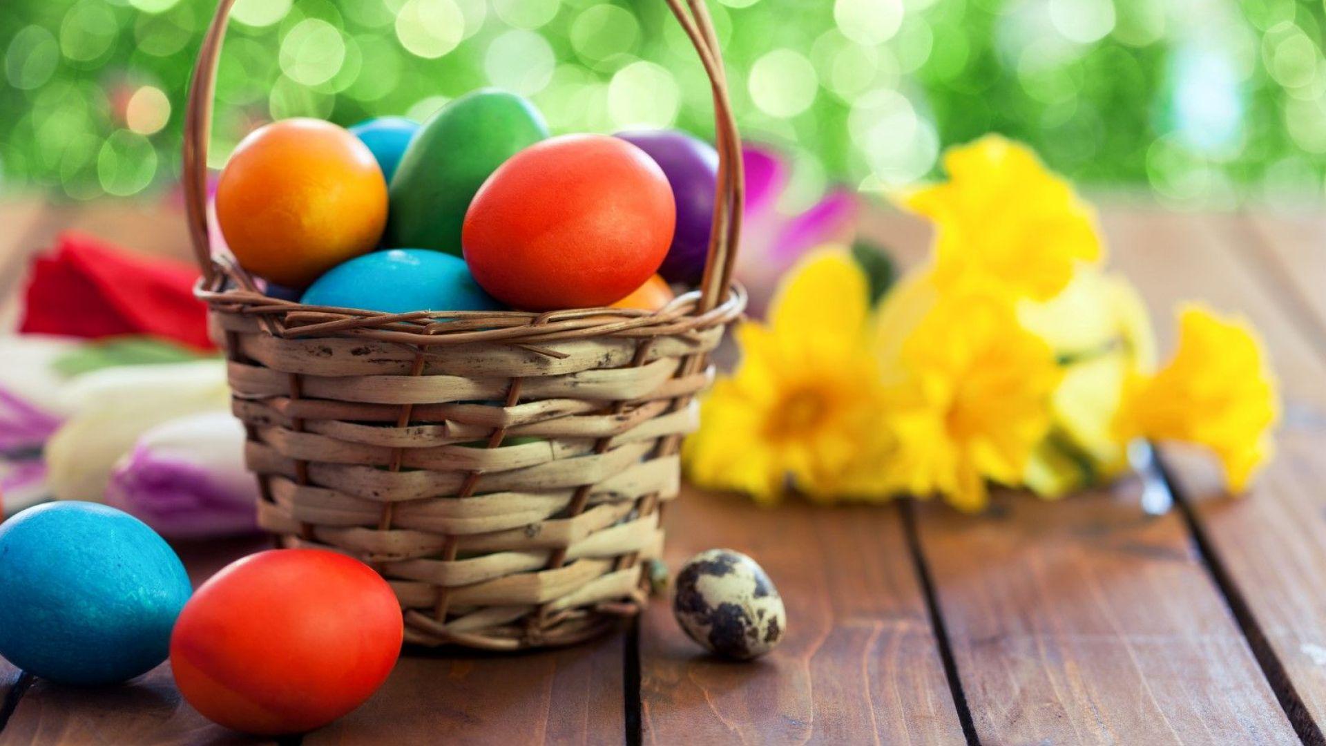 Какво означават цветовете на великденските яйца