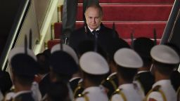 Путин пристигна в Китай, който представя проекта за новия път на коприната