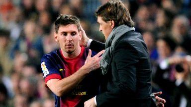 Предсмъртен разговор убедил Меси да остане в Барселона