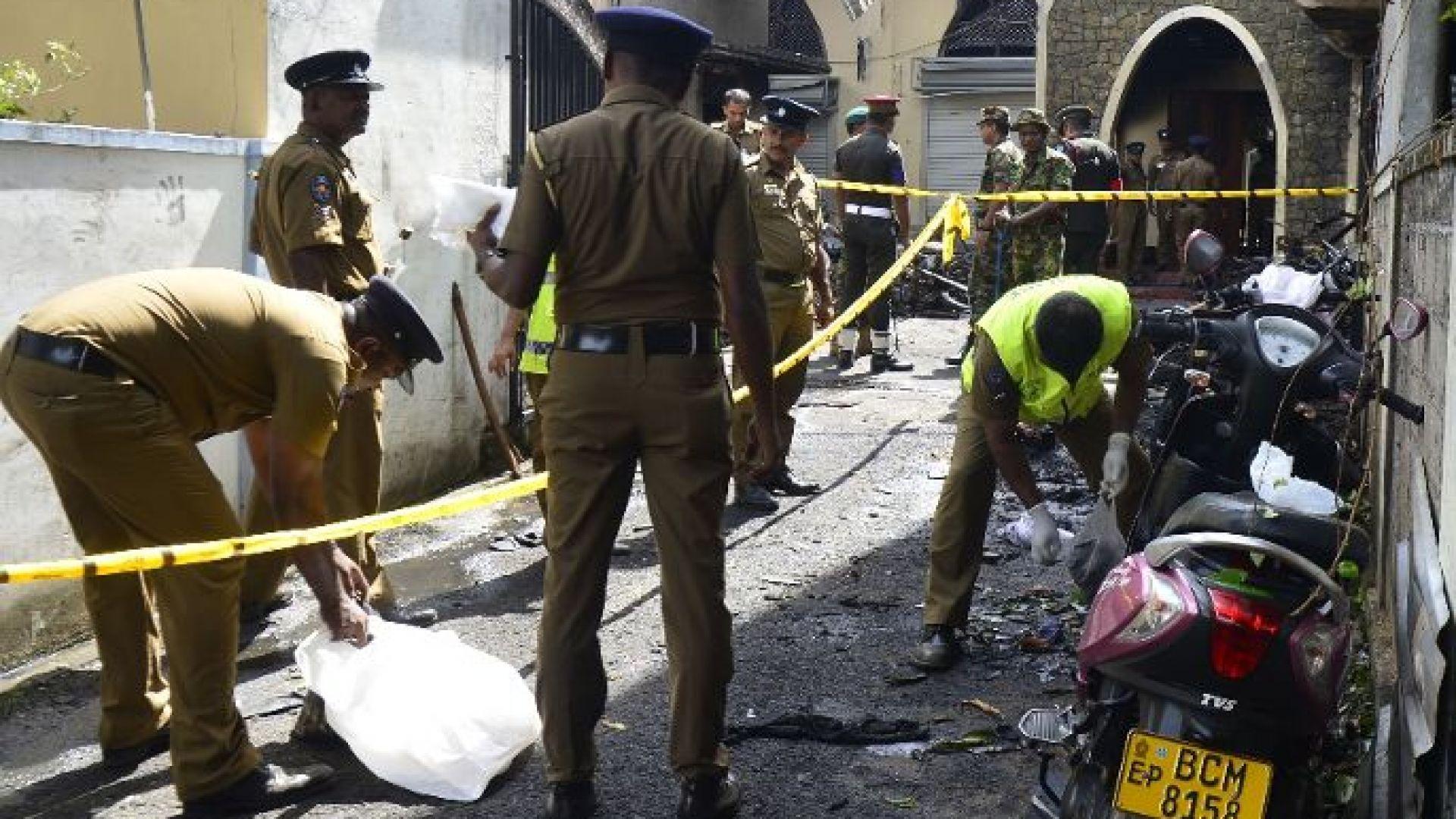 Полицията в Шри Ланка откри 15 тела след престрелка и експлозии