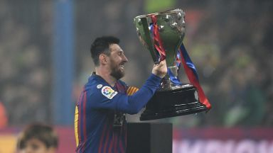 Крал Меси короняса Барселона и стана рекордьор