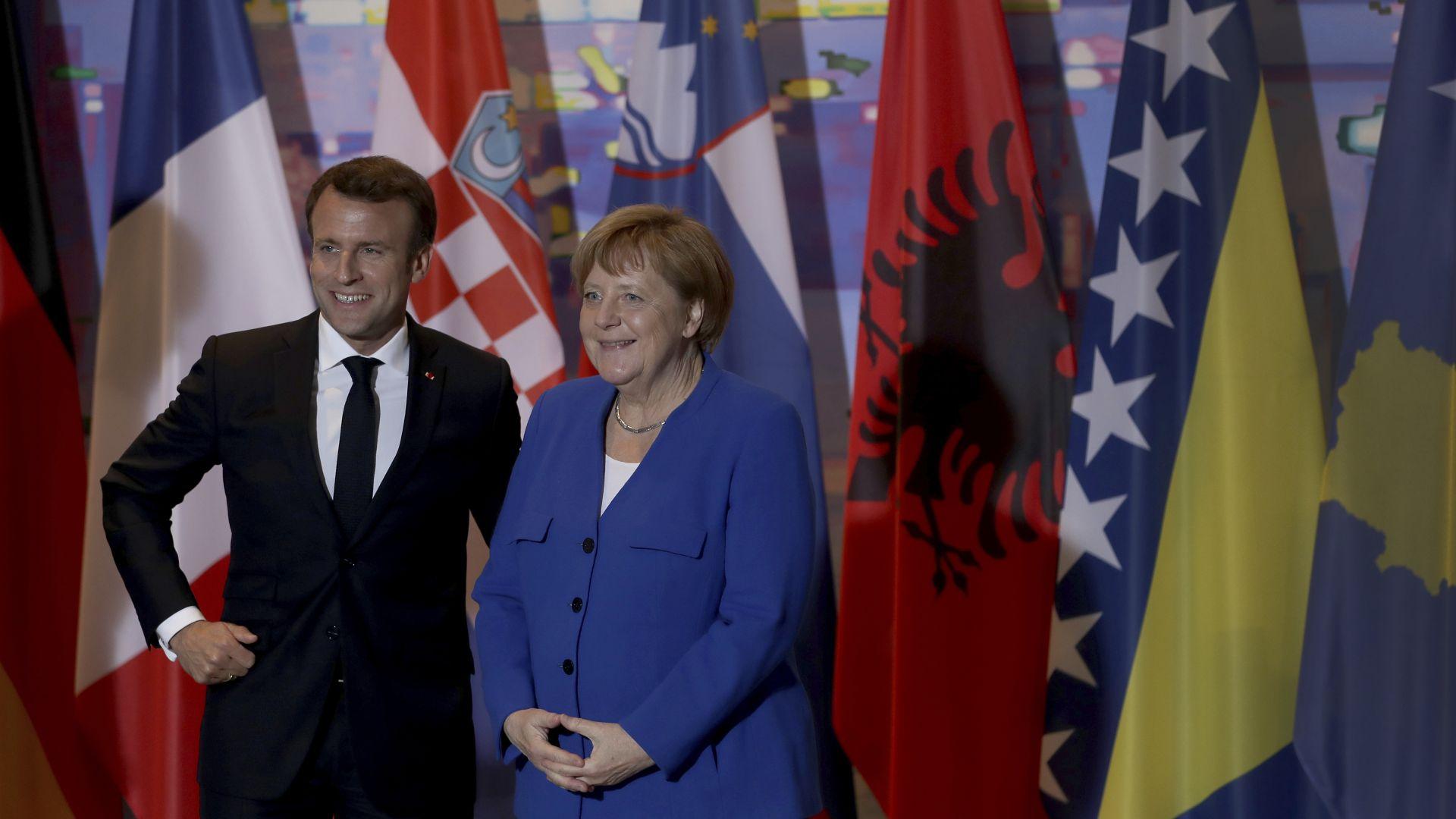 Меркел и Макрон настояват за единство на Западните Балкани