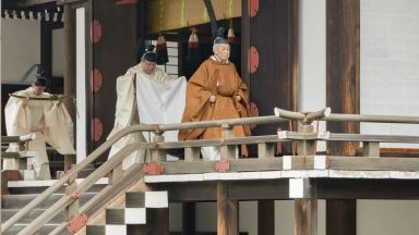 Сменя се цяла императорска ера: Акихито обяви официално абдикацията си (снимки)