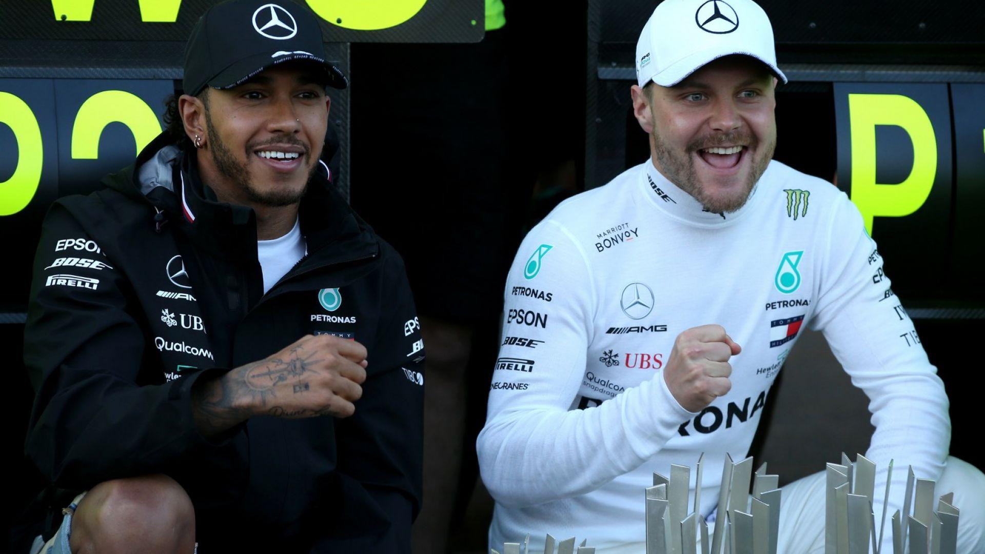 Ботас почти отписа конкурентите за титлата във Формула 1