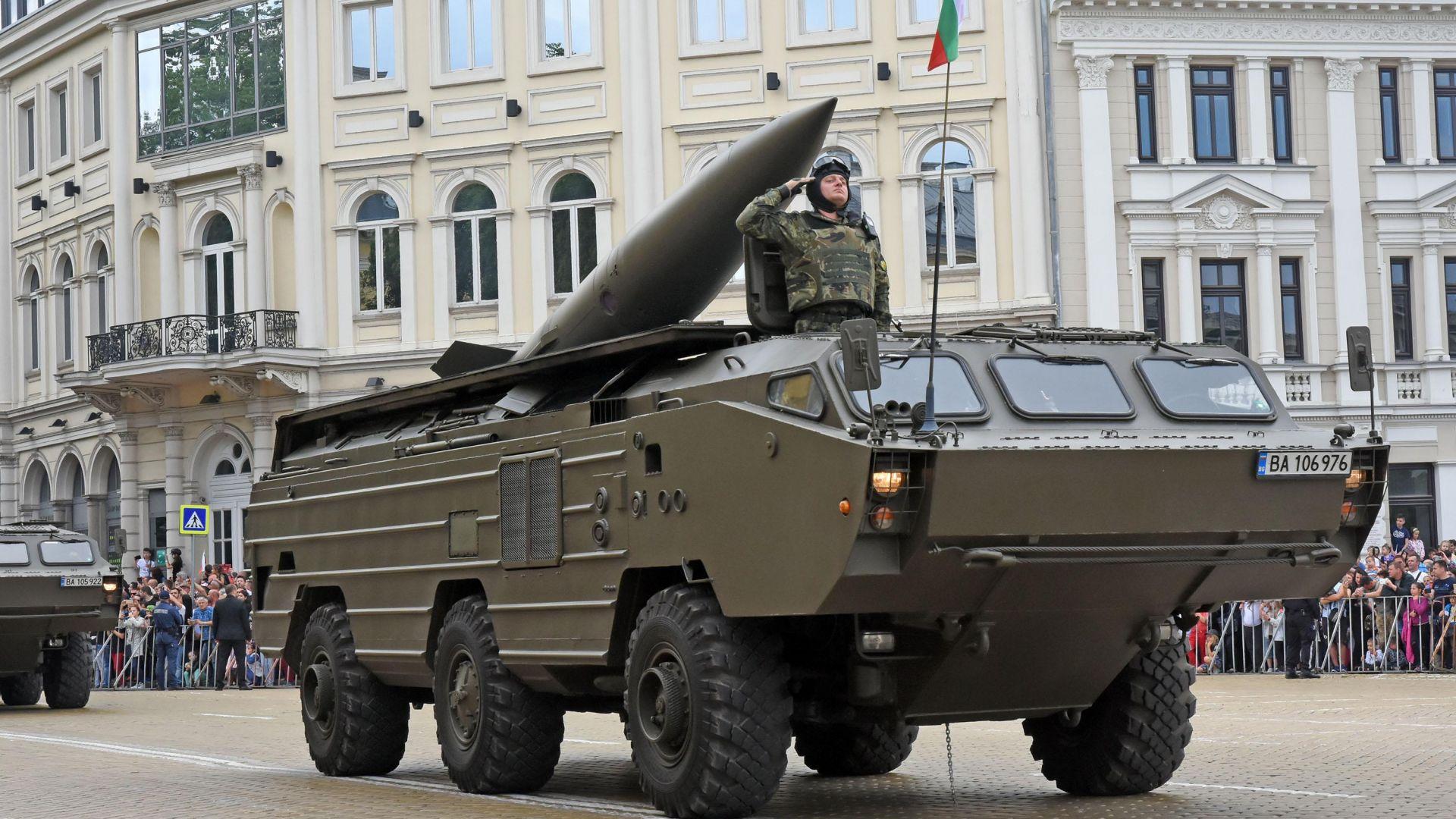 """""""Точка"""" е най-мощната балистична ракета, с която разполага България"""
