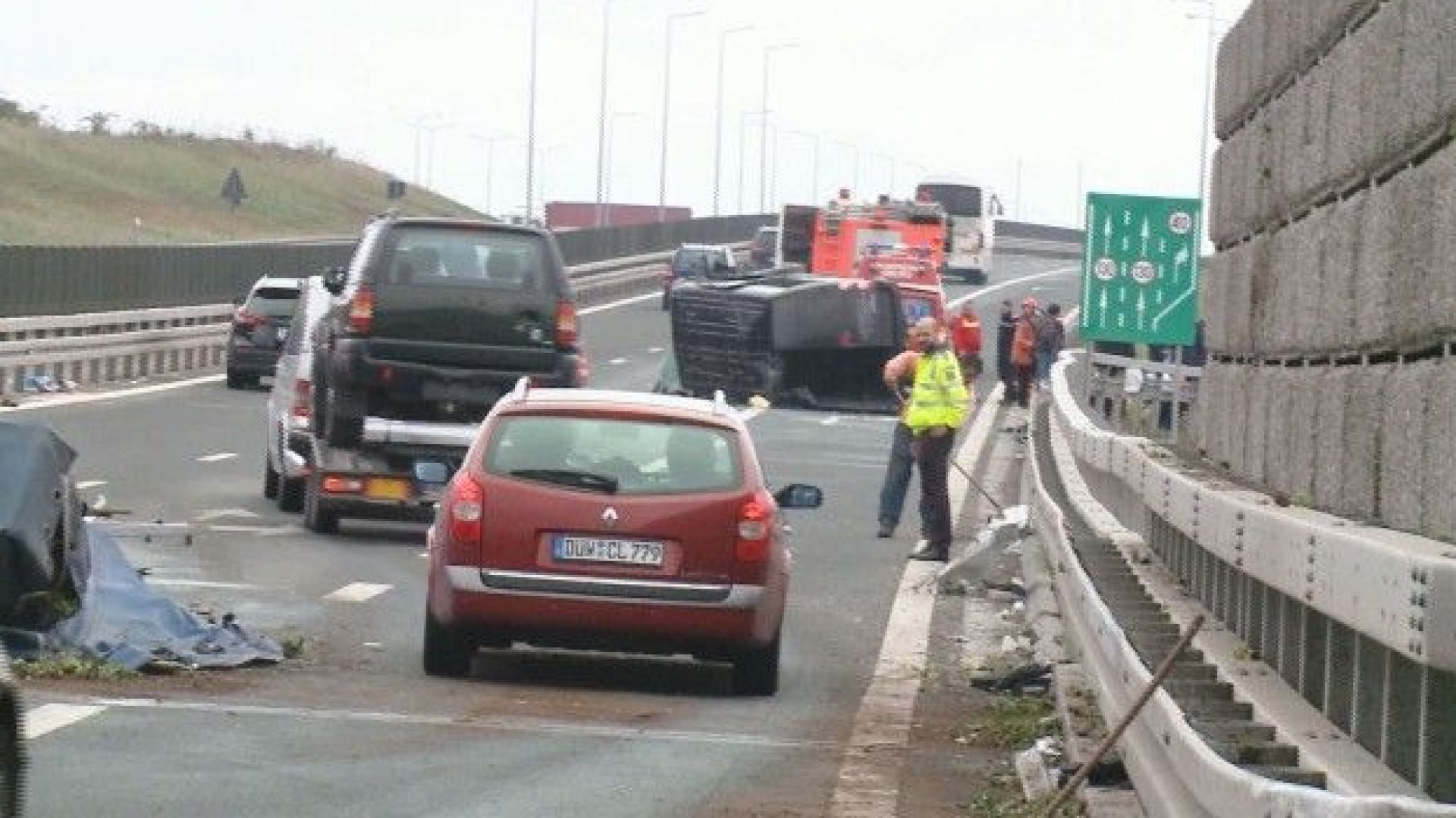 Катастрофиралите в Румъния българи - шофьори, прибиращи се със служебен бус