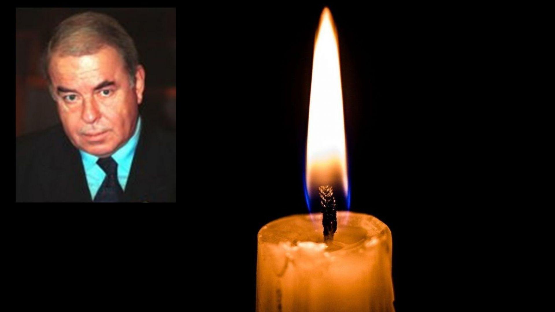 Почина бившият правосъден министър Теодосий Симеонов