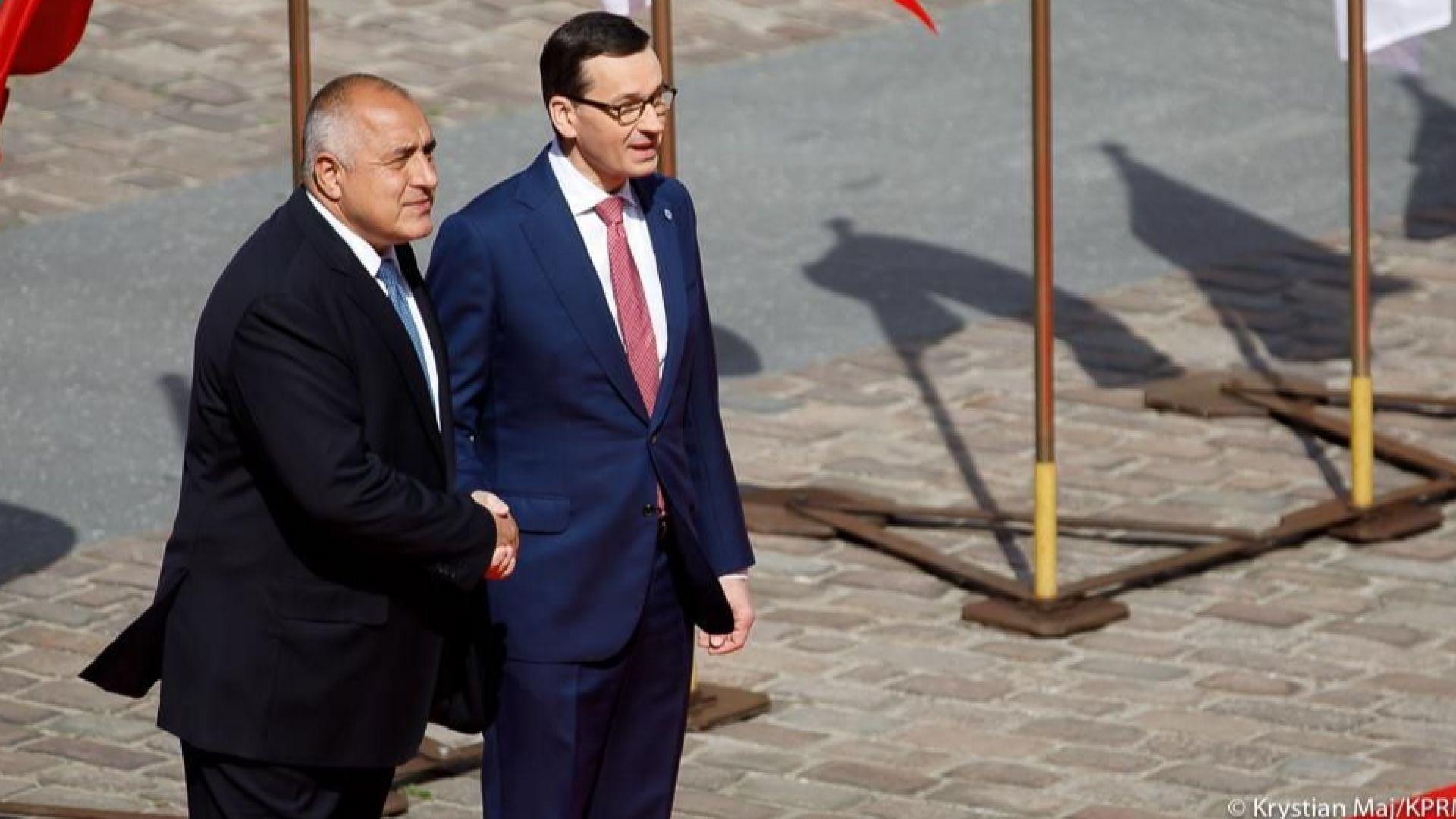 """Борисов във Варшава: Страните ни доказаха, че могат да бъдат """"кормилото"""" на ЕС"""