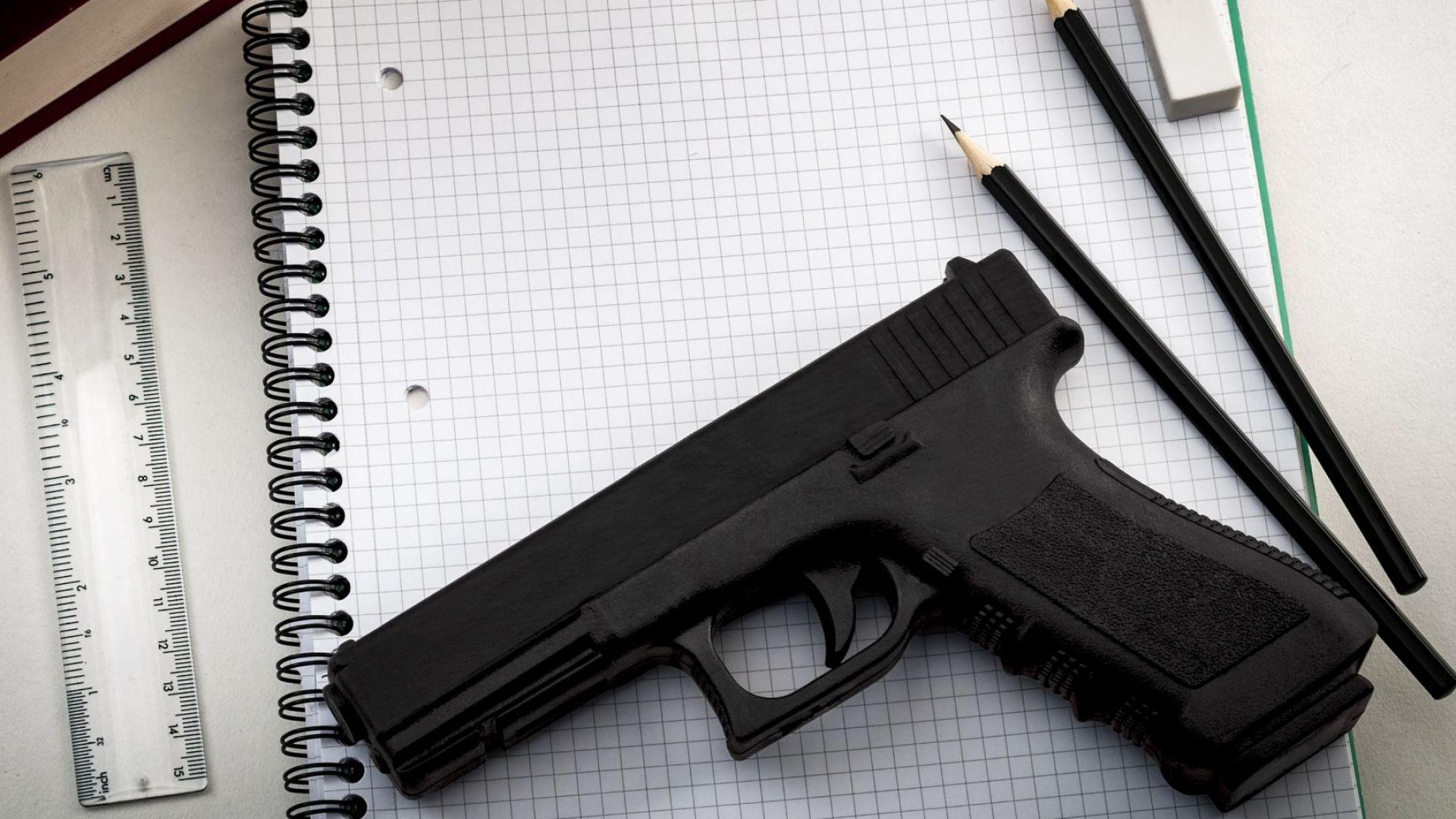 Учителите в клас с оръжие в щата Флорида