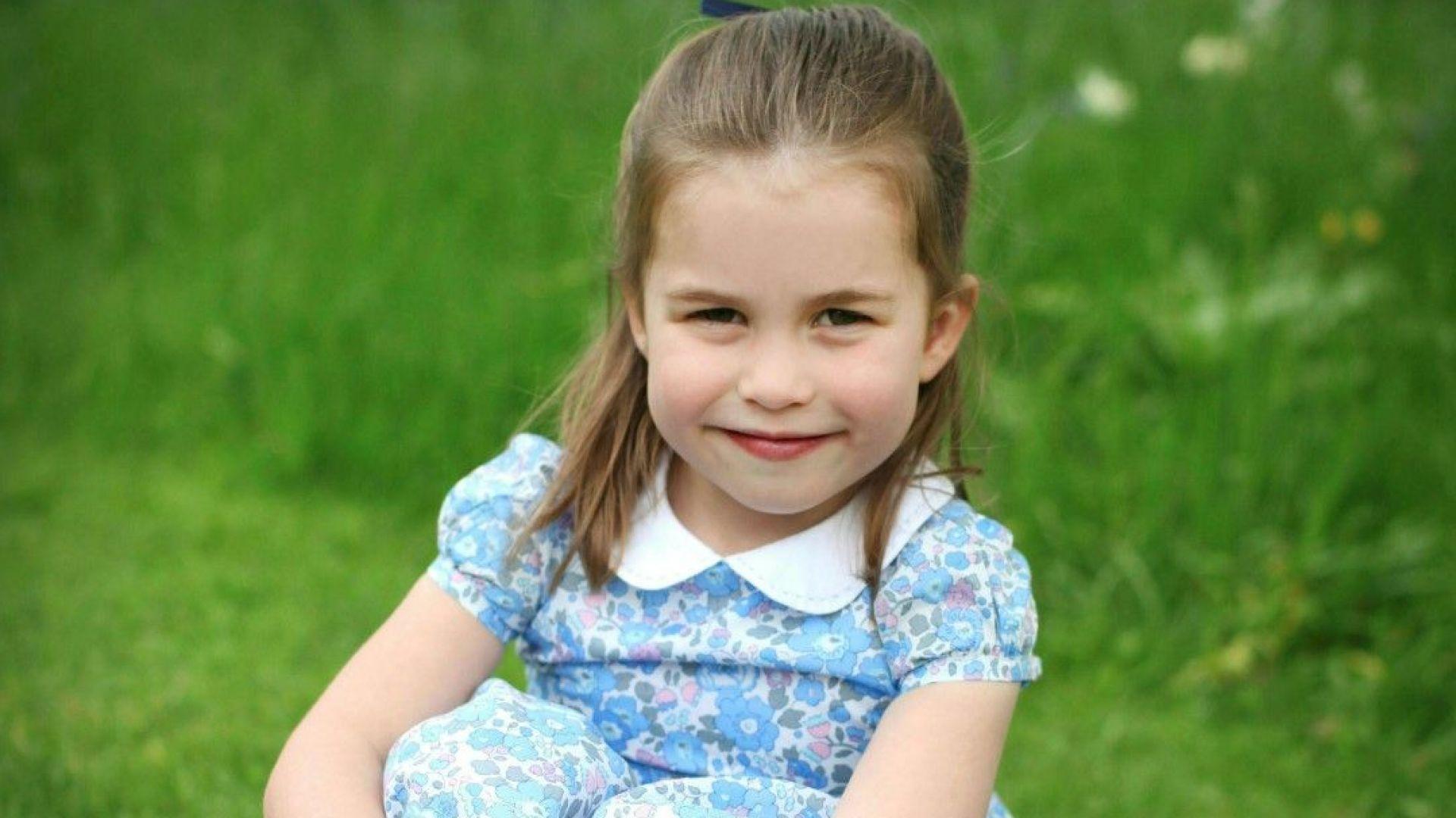 Кейт снима и принцеса Шарлот за рождения ѝ ден